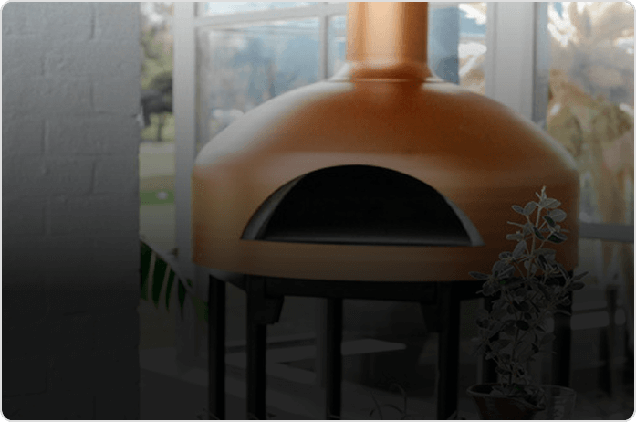 Giotto- wood fired pizza oven